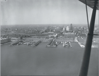 Toronto air view, waterfront