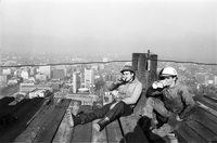 Toronto Dominion Center : High steel workers