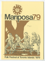 Mariposa Folk Festival 1979 program