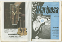Mariposa Folk Festival 1986 program