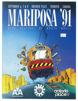 Mariposa Folk Festival 1991 program