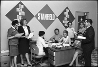 Staff at the Toronto Stanfield office.