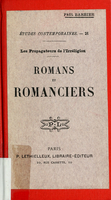 Romans et romanciers