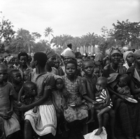 Biafra, Africa : Children at Church Camp for Refugee Children