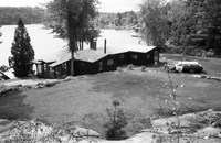 Footes Bay, Ont. : Cottage where kidnap victim Mrs. H.R. Nelles was held