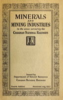 Minerals and mining industries in the areas served by the Canadian National Railways