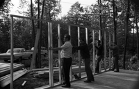 Haliburton, Ont. : Toronto jaycees erect cabin [not used]