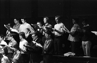 Mike Eben : Singing with Toronto Symphony Chorus Mar. 30/70