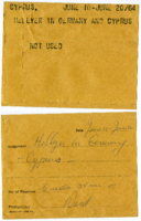 Cyprus : Hellyer in Germany and Cyprus [not used]