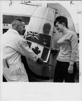 Canada : New Canadian flag only 1964 to --