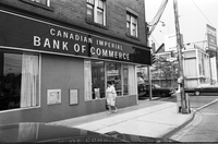 [Canadian Imperial Bank of Commerce (CIBC)] : Spadina and Bloor : Robbery