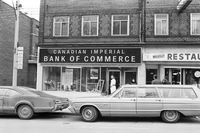 [Canadian Imperial Bank of Commerce (CIBC)] : Dr. Lindzon shot during bank robbery