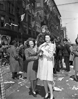 Armistice Day Celebrations in Toronto VJ Day