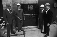 Royal Bank of Canada : Laying foundation stone for new bldg. : King near Yonge [not used]