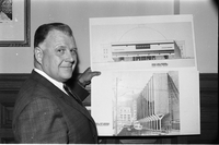 Harold Ballard : and proposed addition to Maple Leaf Gardens