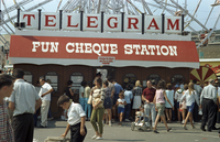 Telegram booths at CNE