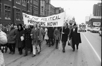 F.L.Q. protest of Montreal five in Toronto